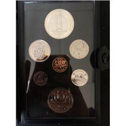 1977 Canada Silver Double Dollar Coin Set