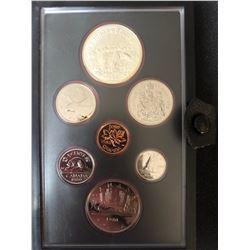 1980 Canada Silver Double Dollar Coin Set