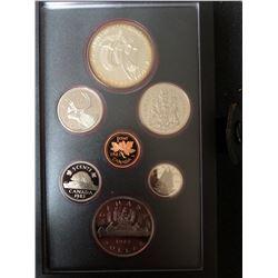 1983 Canada Silver Double Dollar Coin Set