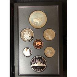 1985 Canada Silver Double Dollar Coin Set