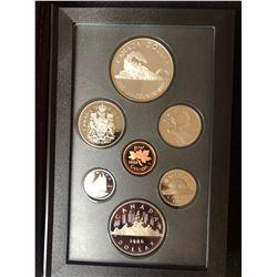 1986 Canada Silver Double Dollar Coin Set