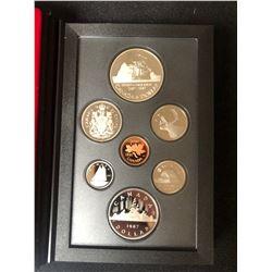 1987 Canada Silver Double Dollar Coin Set