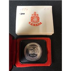 1974 100th Anniversary City of Winnipeg Canadian Silver Coin