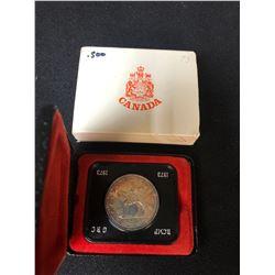 1873-1973 CANADA 1 DOLLAR RCMP SILVER COIN