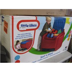 LITTLE TIKES SORT AND STORE TOY CHEST
