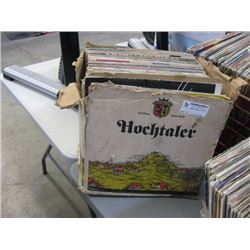 USED BOX OF ASSORTED LPS