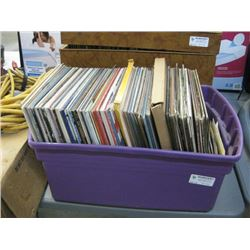 USED BIN OF ASSORTED LPS