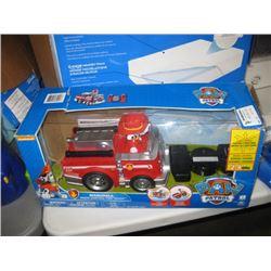 USED PAW PATROL R/C FIRE TRUCK