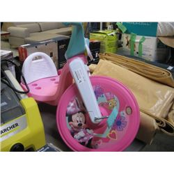 USED MINNIE MOUSE TRICYCLE