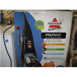 USED BISSELL PROHEAT DEEP CLEANER
