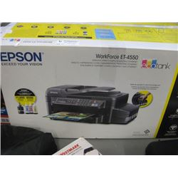 USED EPSON WORKFORCE ET-4550 PRINTER