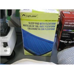 USED LIGHT SPEED SLEEP PAD WITH FLEXFORM