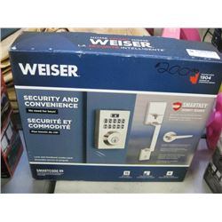 USED WEISER SMARTKEY SECURITY