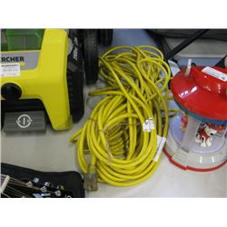 USED YELLOW EXTENSION CORD