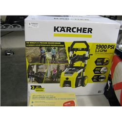 USED KARCHER 1900 PSI ELECTIC PRESSURE WASHER