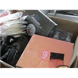 BOX OF MISC HARD