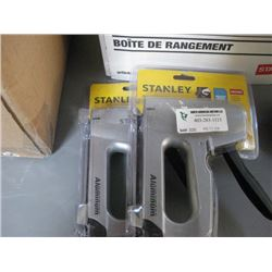 TWO STANLEY STAPLERS