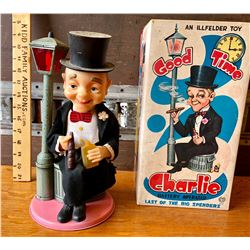ILLFELDER BATTERY OPERATED 'GOOD TIME CHARLIE' TOY - JAPAN