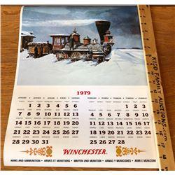 1979 WINCHESTER CALENDAR