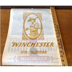 1978 WINCHESTER CALENDAR