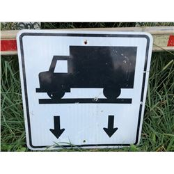 ROAD SIGN - TRUCK SCALE