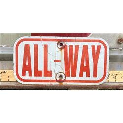 ROAD SIGN - ALL-WAY