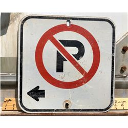 ROAD SIGN - NO PARKING