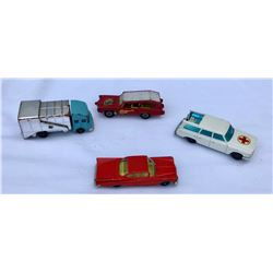 GR OF 4 DINKY TOY CARS