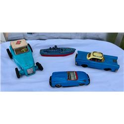 GR OF 4 TOY VEHICLES