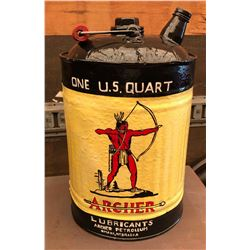 ARCHER - HAND PAINTED - FUEL CAN