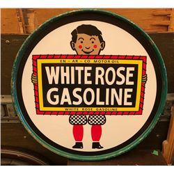 WHITE ROSE OIL DRUM LID