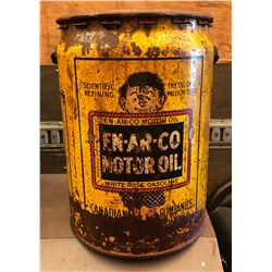 EN - AR - CO MOTOR OIL DRUM