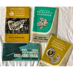 GR OF 4, FORD MANUALS