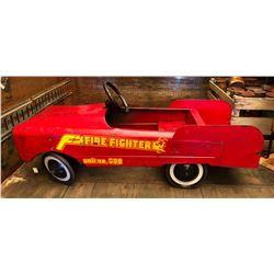AMF UNIT NO 508 FIRE CHIEF PEDDLE CAR