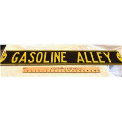 DECO 'GASOLINE ALLEY' ROAD SIGN