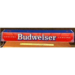 BUDWEISER PLASTIC LIGHT COVER