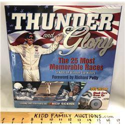 NASCAR:  'THUNDER & GLORY' COFFEE TABLE BOOK