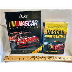 NASCAR:  GR OF 2 COFFEE TABLE BOOKS