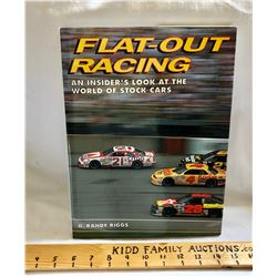 NASCAR:  'FLAT-OUT RACING' COFFEE TABLE BOOK