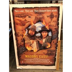 MOVIE POSTER - 'WAGONS EAST' - JOHN CANDY