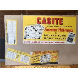 GR OF 4, CASITE ADVERTISING ITEMS