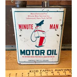 MINUTE MAN OIL - 2 GAL SIZE