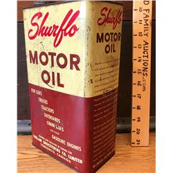 SURFLO MOROT OIL CAN - 1 GAL SIZE