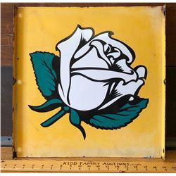 1950's WHITE ROSE DS SIGN