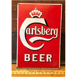 CARLSBERG, SSP EMBOSSED SIGN - DENMARK