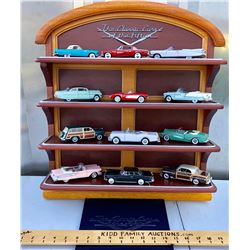 GR OF 12, 1950'S STYLE DIE CAST CARS