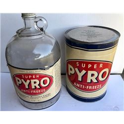 GR OF 2, PYRO ANTI-FREEZE CONTAINERS