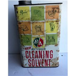 BA CLEANING SOLVENT TIN