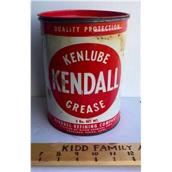 KENDALL GREASE TUB - 5 LB SIZE