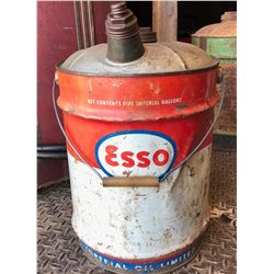 ESSO FUEL CAN